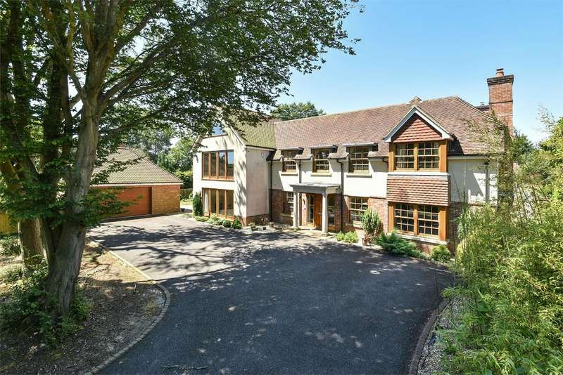 5 Bedrooms Detached House for sale in Cliff Way, Compton, Winchester, Hampshire, SO21