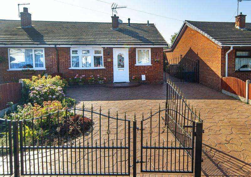 3 Bedrooms Semi Detached Bungalow for sale in East Road, Brinsford, Wolverhampton