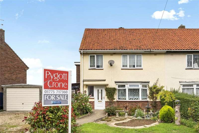 4 Bedrooms Semi Detached House for sale in East Elloe Avenue, Holbeach, PE12