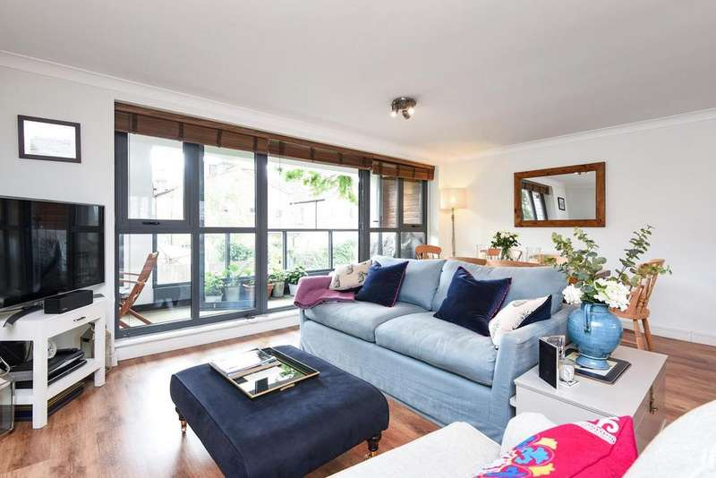 2 Bedrooms Flat for sale in Brookwood Road, Southfields