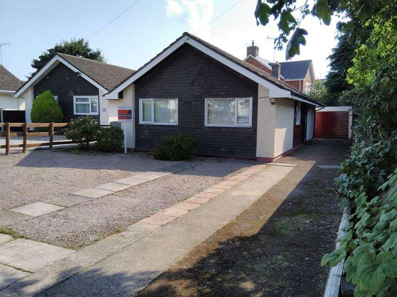 2 Bedrooms Detached Bungalow for sale in Sunnyvale, Raglan, Monmouthshire