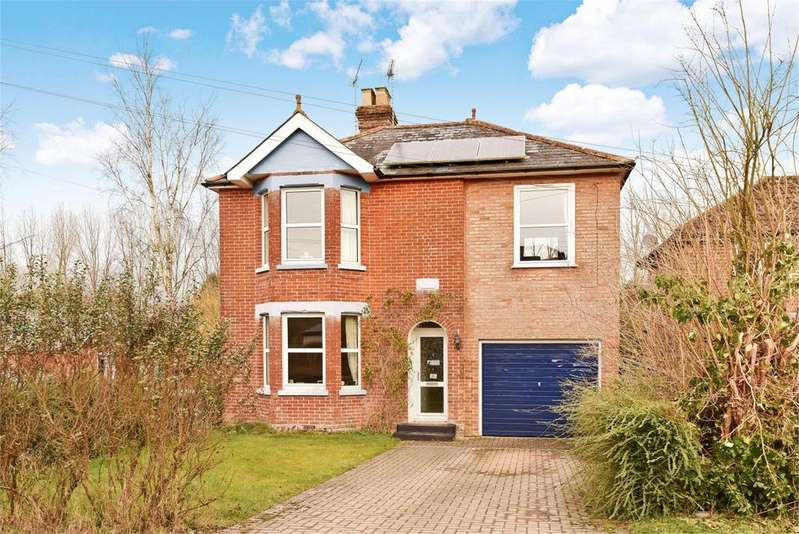 4 Bedrooms Detached House for sale in Lockerley Green, Lockerley, Hampshire, SO51