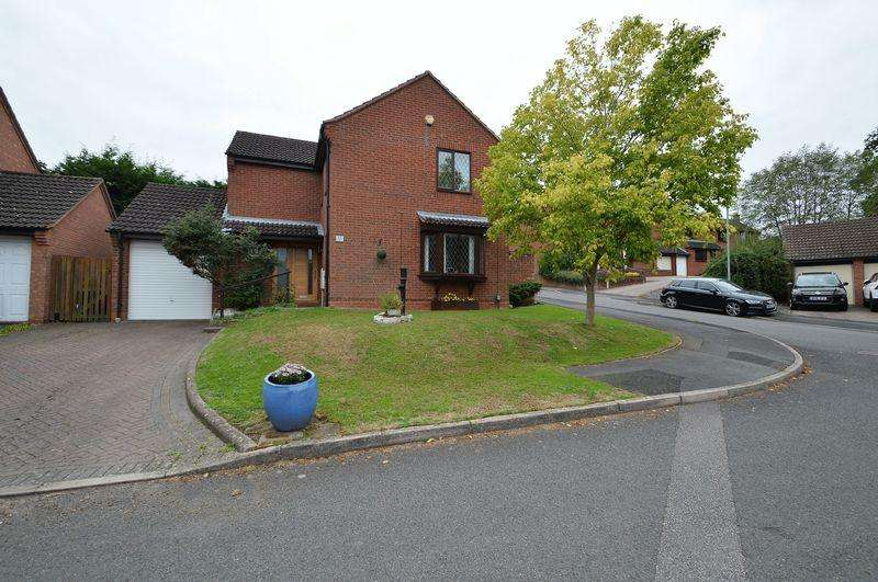 4 Bedrooms Detached House for sale in Towbury Close, Oakenshaw South, Redditch