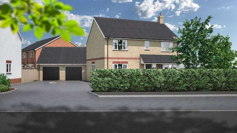 4 Bedrooms Detached House for sale in Rook Tree Fields, Stotfold, Hitchin, SG5