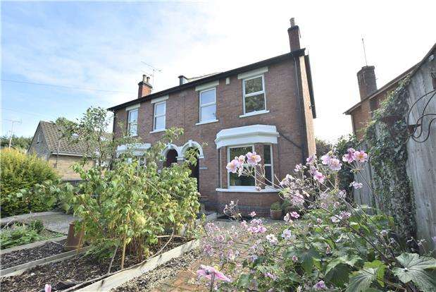 3 Bedrooms Semi Detached House for sale in Brookway Road, Charlton Kings, Cheltenham, Gloucestershire,