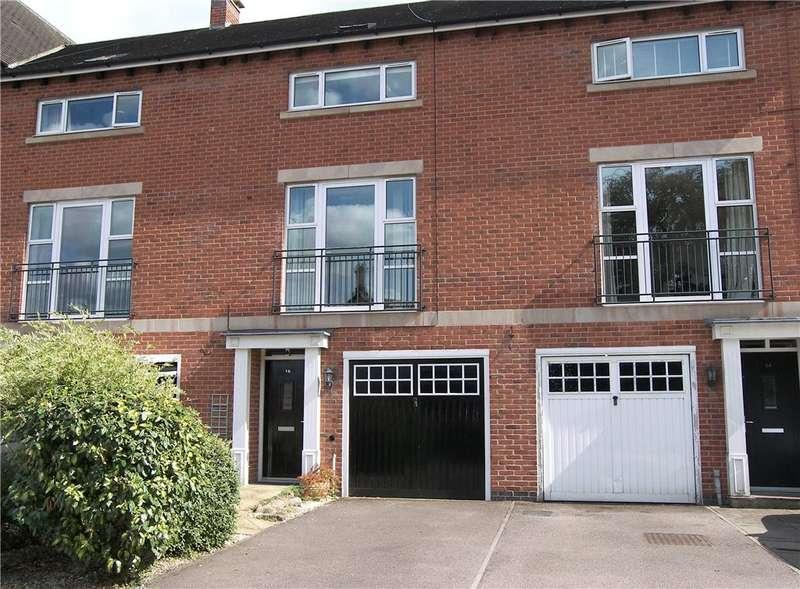 4 Bedrooms Terraced House for sale in Brooke Close, Belper, Derbyshire, DE56