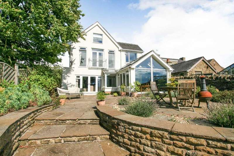 4 Bedrooms Detached House for sale in Cartledge Lane, Holmesfield, Derbyshire S18 7SB