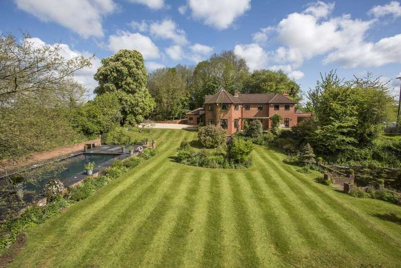 5 Bedrooms Detached House for sale in Nynehead, Wellington, Somerset