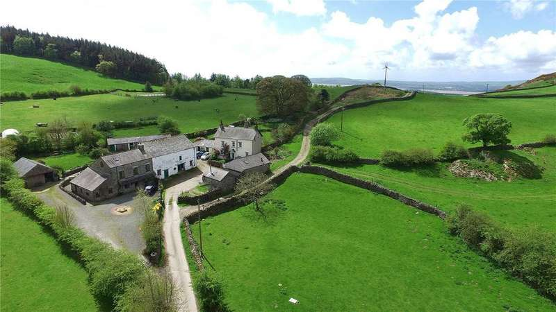 5 Bedrooms Detached House for sale in Howbarrow Farm, Cartmel, Grange-Over-Sands, Cumbria
