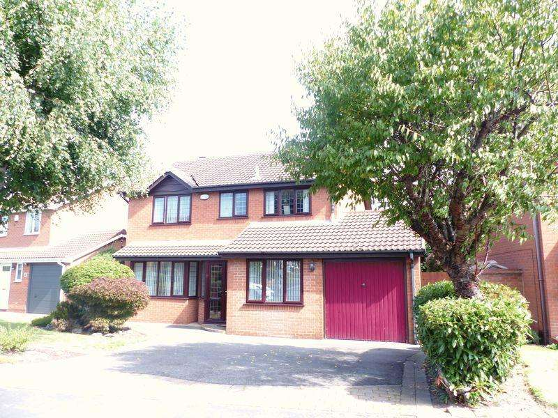 4 Bedrooms Detached House for sale in Patterton Drive, Sutton Coldfield
