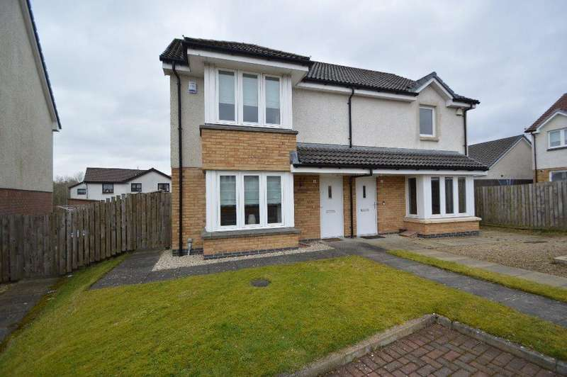 2 Bedrooms Semi Detached House for sale in Jennings Gardens, Kilbirnie, North Ayrshire, Ka25 7BF