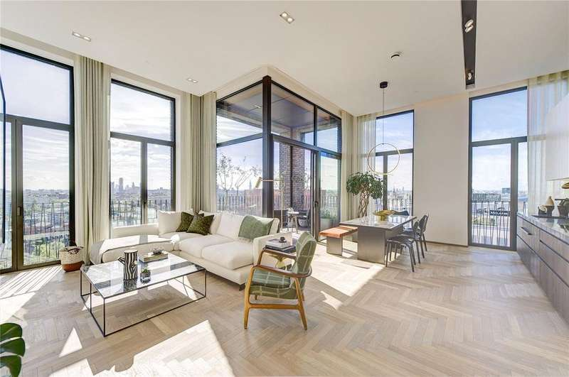 2 Bedrooms Penthouse Flat for sale in Lewis Cubitt Walk, Kings Cross, N1C