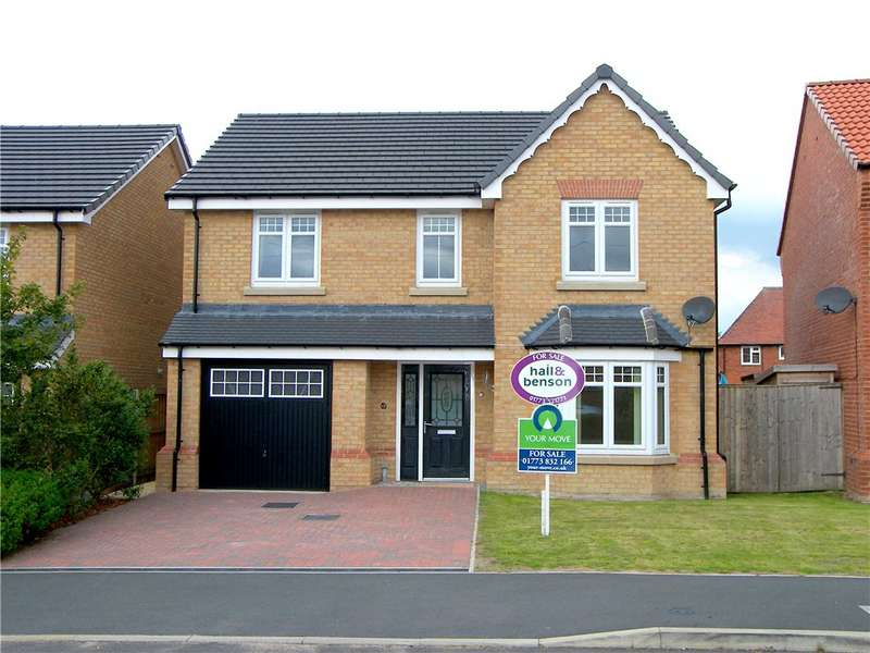 4 Bedrooms Detached House for sale in Oakview Gardens, Morton, Alfreton, Derbyshire, DE55