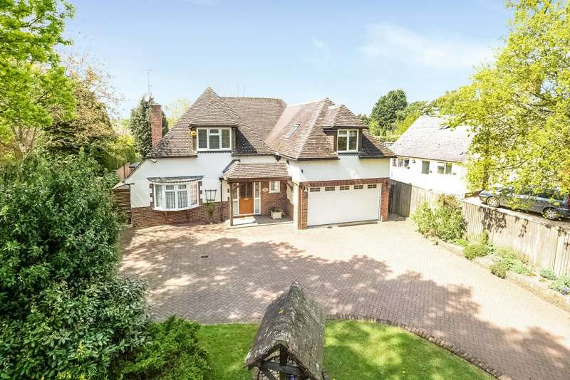 5 Bedrooms Detached House for sale in Tanners Lane, Chalkhouse Green, RG4
