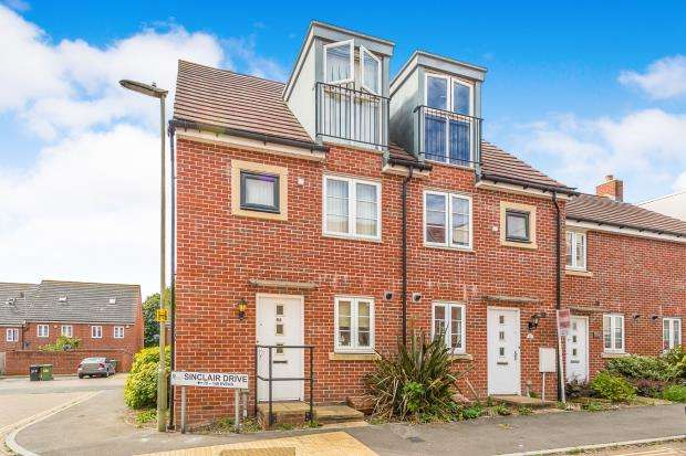 3 Bedrooms End Of Terrace House for sale in Spencer Place, Basingstoke, Hampshire
