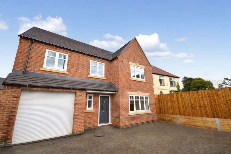 4 Bedrooms Detached House for sale in The Brambles, Woodville, Swadlincote, DE11