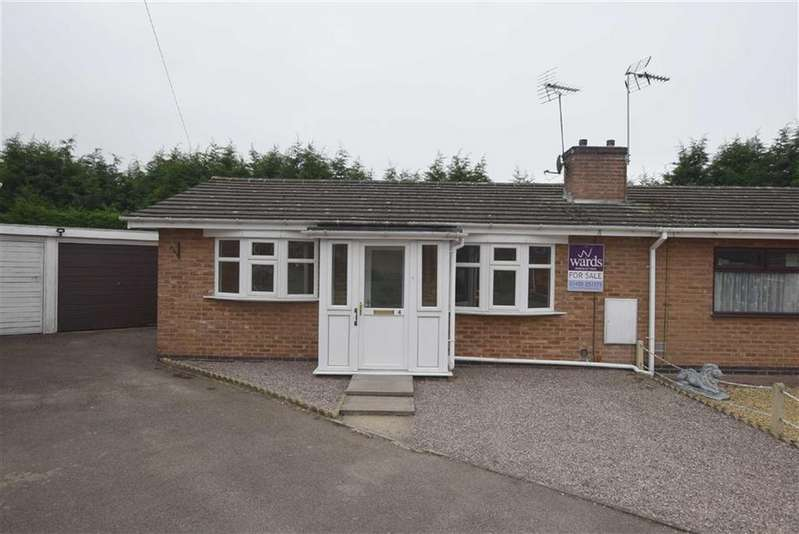 2 Bedrooms Semi Detached Bungalow for sale in Doctor Cookes Close, Barwell, Leicestershire
