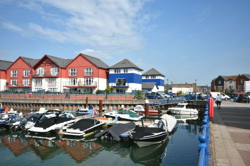 4 Bedrooms Detached House for sale in CLIPPER WHARF, EXMOUTH MARINA, EXMOUTH, NR EXETER, DEVON