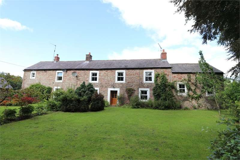 4 Bedrooms Detached House for sale in CA6 6LH Crook Farm and Cottage, Lyneholmeford, Roweltown, Cumbria