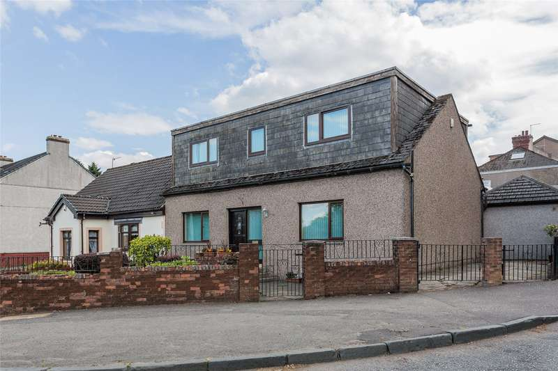 4 Bedrooms Semi Detached House for sale in Edinburgh Road, Harthill, Shotts, North Lanarkshire, ML7