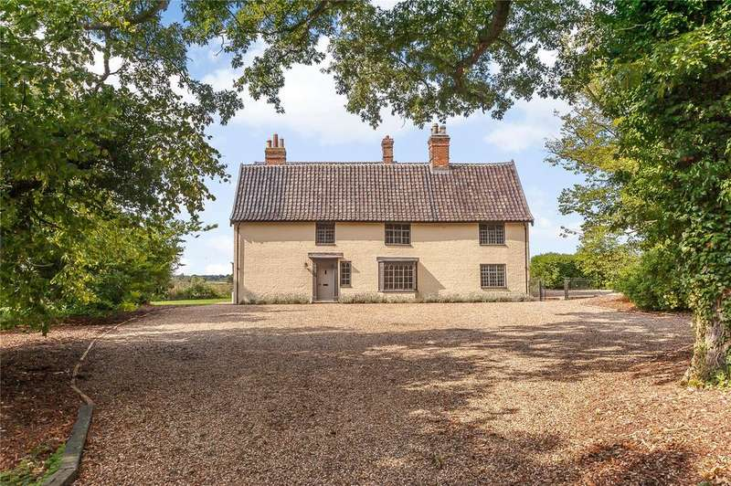 7 Bedrooms Detached House for sale in Wash Lane, Spexhall, Halesworth, Suffolk