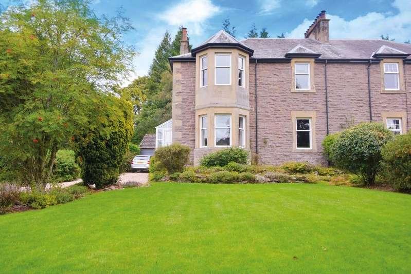 4 Bedrooms Semi Detached House for sale in Duncargen, St Margarets Drive, Dunblane, Stirling, FK15 0DP