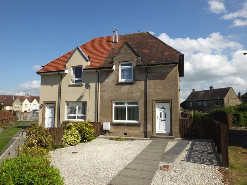 2 Bedrooms Semi-detached Villa House for sale in Young Avenue, Troon KA10