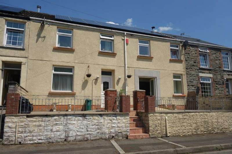 4 Bedrooms Terraced House for sale in Charles Street, Treherbert
