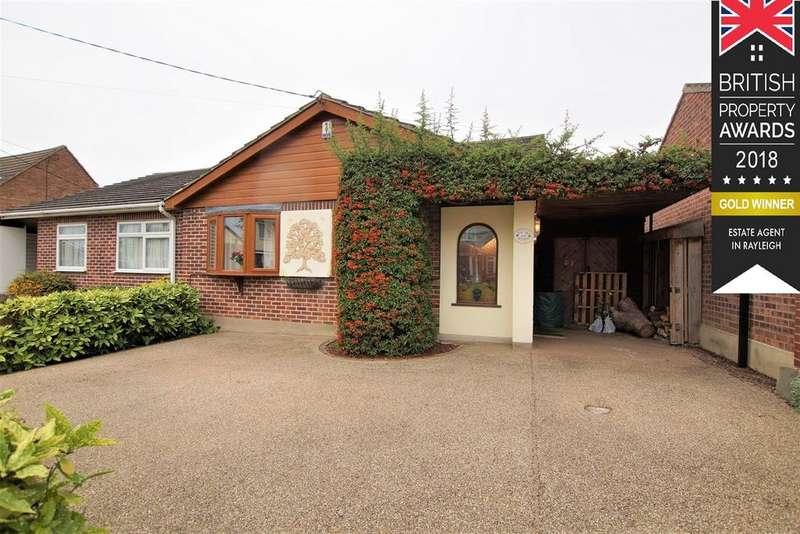 3 Bedrooms Semi Detached Bungalow for sale in Manor Road, Benfleet, SS7