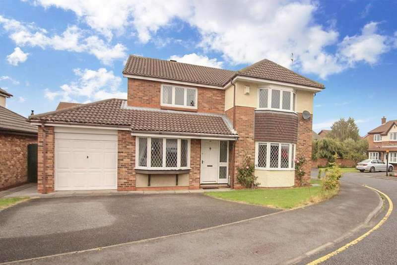 4 Bedrooms House for sale in Haversham Close, Newcastle Upon Tyne