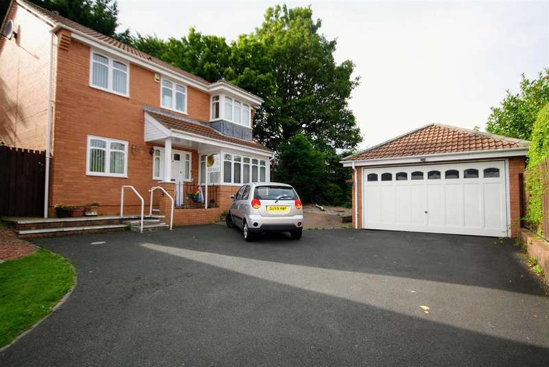 5 Bedrooms Detached House for sale in Castle Riggs, Chester Le Street
