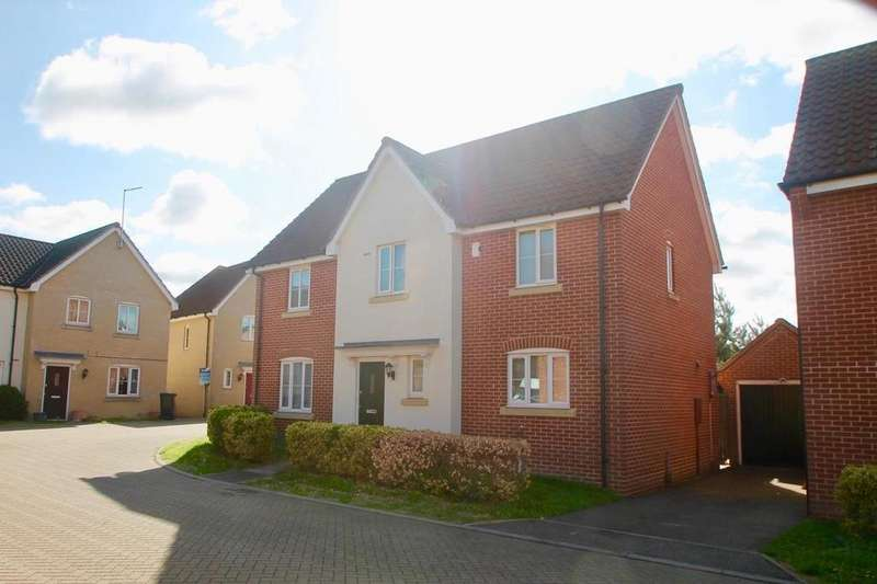 4 Bedrooms Detached House for sale in Windmill Close, Lakenheath