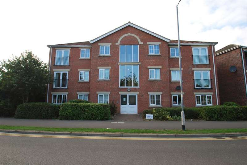 2 Bedrooms Apartment Flat for sale in Parliament Close, Skegness