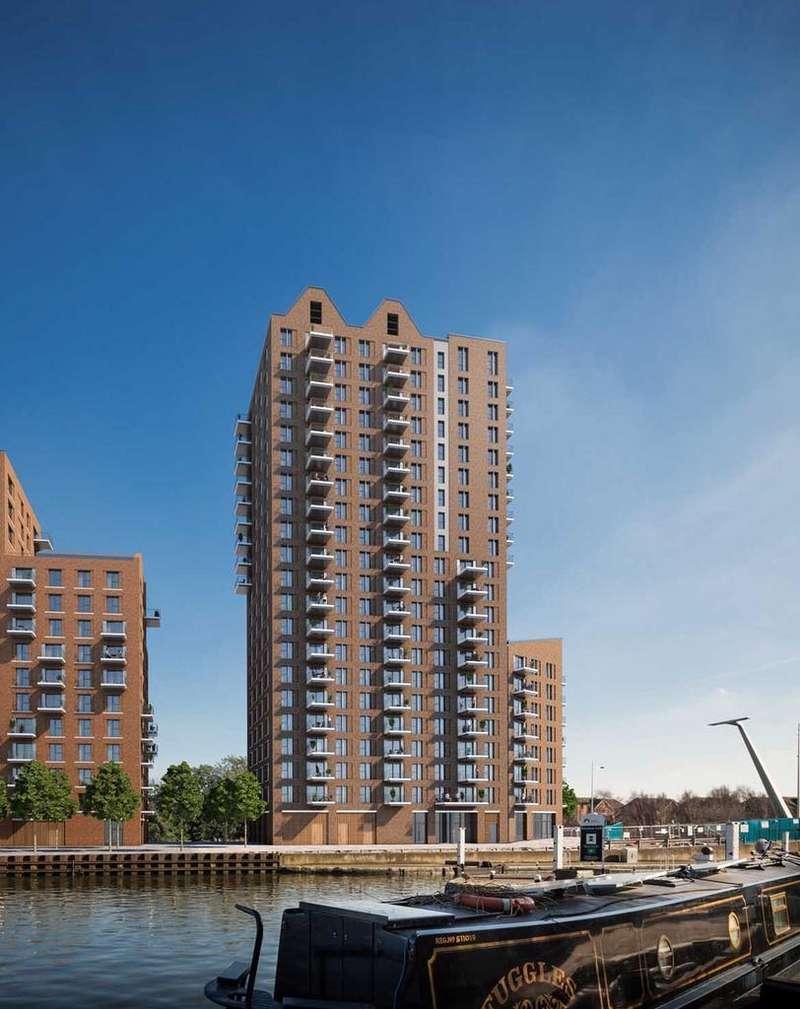 1 Bedroom Apartment Flat for sale in Rise, Lock17, Tottenham Hale