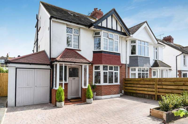 4 Bedrooms Semi Detached House for sale in Woodhouse Road, Hove, East Sussex, BN3