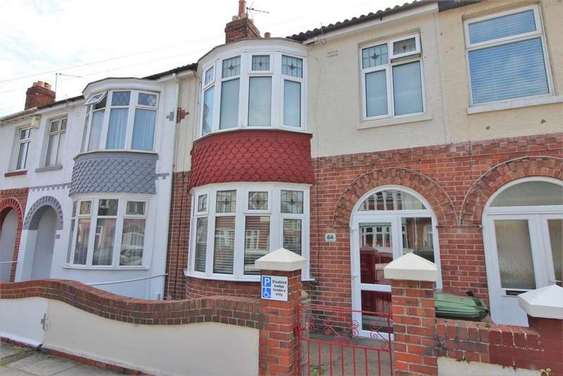 3 Bedrooms Terraced House for sale in Wesley Grove, Copnor