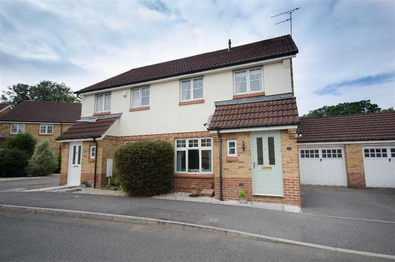 3 Bedrooms Semi Detached House for sale in Tunbridge Way, Emersons Green, Bristol, BS16 7EX