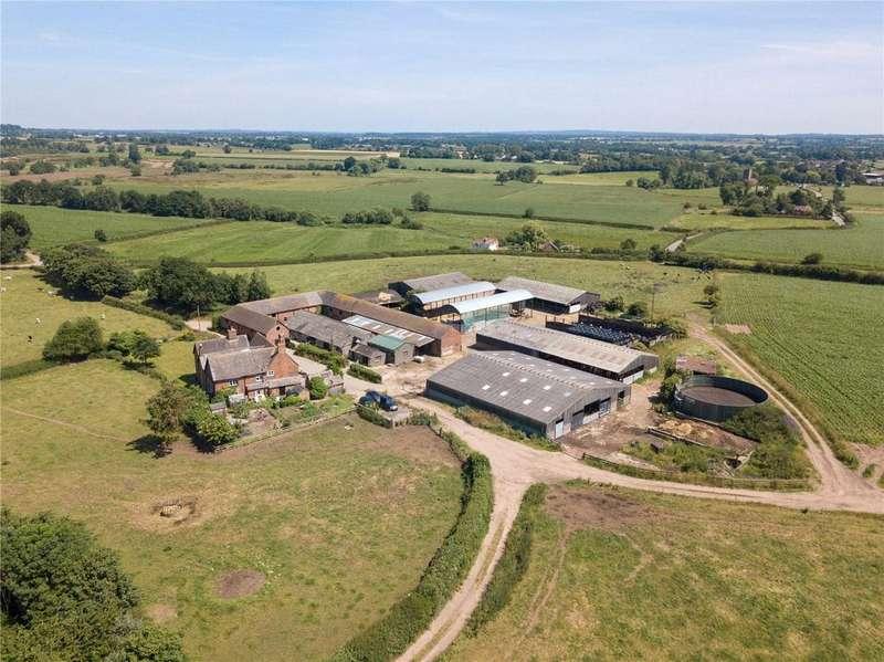 6 Bedrooms Unique Property for sale in The Whole: Cotton Farm, Hodnet, Market Drayton, Shropshire, TF9