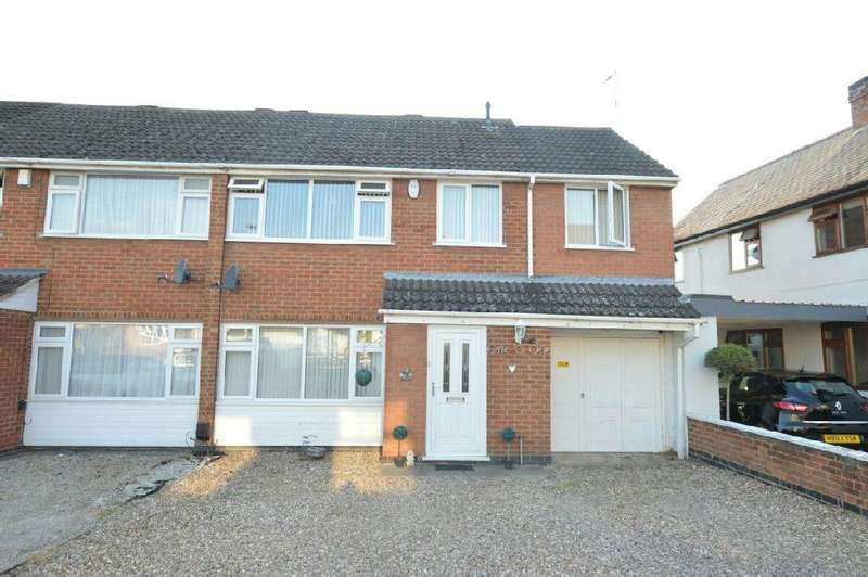 4 Bedrooms Semi Detached House for sale in High Street, Whetstone, Leicester