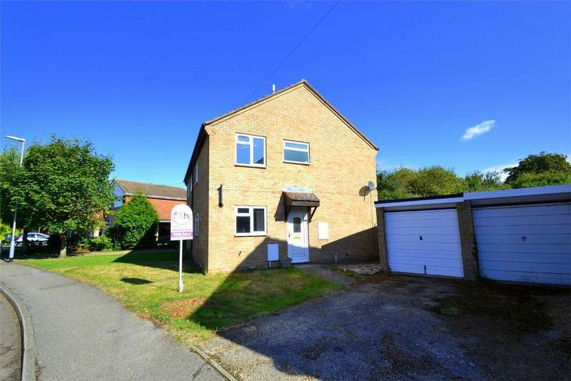 3 Bedrooms Semi Detached House for sale in Manor Gardens, Buckden, St Neots, Cambridgeshire