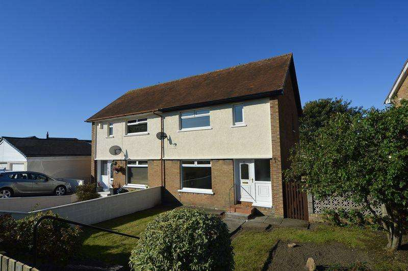 2 Bedrooms Semi-detached Villa House for sale in Hawkhill Avenue, Ayr