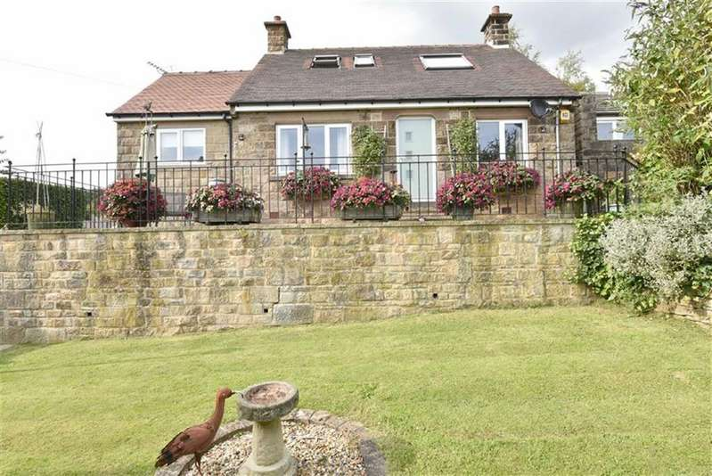 3 Bedrooms Detached Bungalow for sale in Hazeldene, Sydnope Hill, Darley Moor, Matlock, Derbyshire, DE4