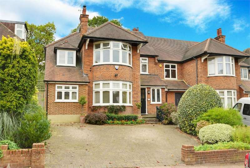 4 Bedrooms Semi Detached House for sale in Ringwood Avenue, East Finchley, London