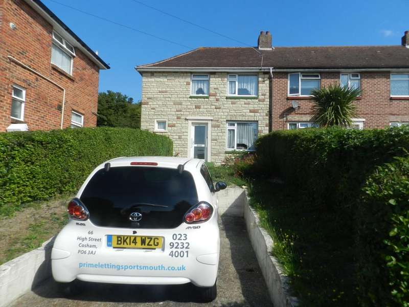 3 Bedrooms End Of Terrace House for sale in Mablethorpe Road, Wymering, Cosham, Portsmouth PO6