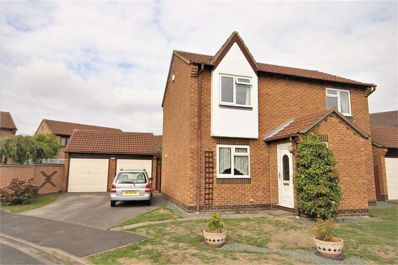 3 Bedrooms Detached House for sale in Holdenby Close, Lincoln, Lincolnshire