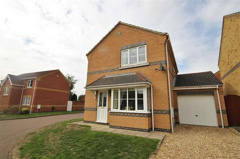 3 Bedrooms Detached House for sale in Milton Close, Cherry Willingham, Lincoln, Lincolnshire