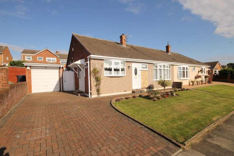 3 Bedrooms Semi Detached Bungalow for sale in Crowland Road, Fens, Hartlepool