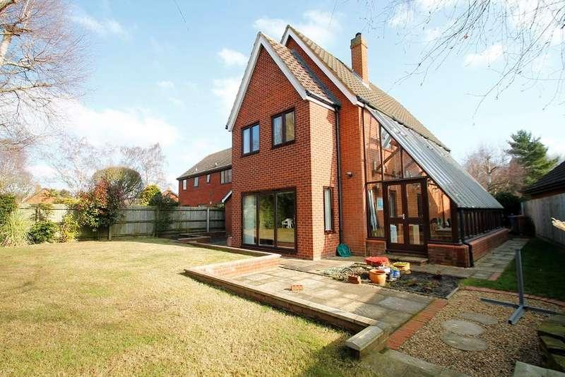 4 Bedrooms Detached House for sale in Forest Lane, Martlesham Heath, Ipswich, IP5