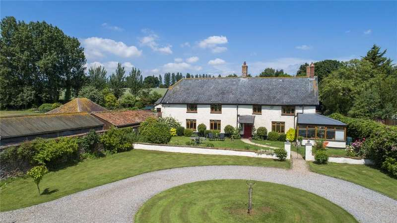 5 Bedrooms Detached House for sale in Tuckerton, North Newton, Bridgwater, Somerset