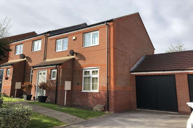 3 Bedrooms Semi Detached House for sale in Margaret Avenue, Ilkeston, DE7